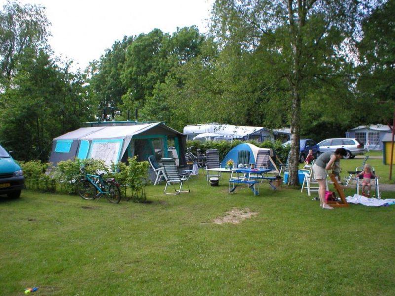 kamperen met privé sanitair