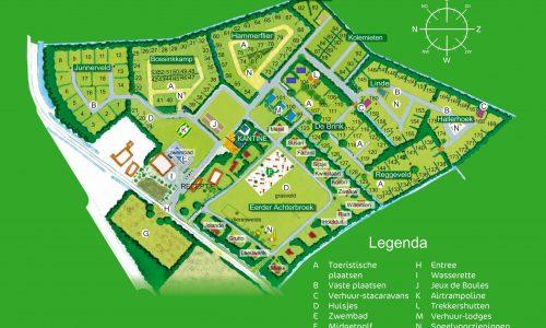 Blekkenhorst plattegrond 2015